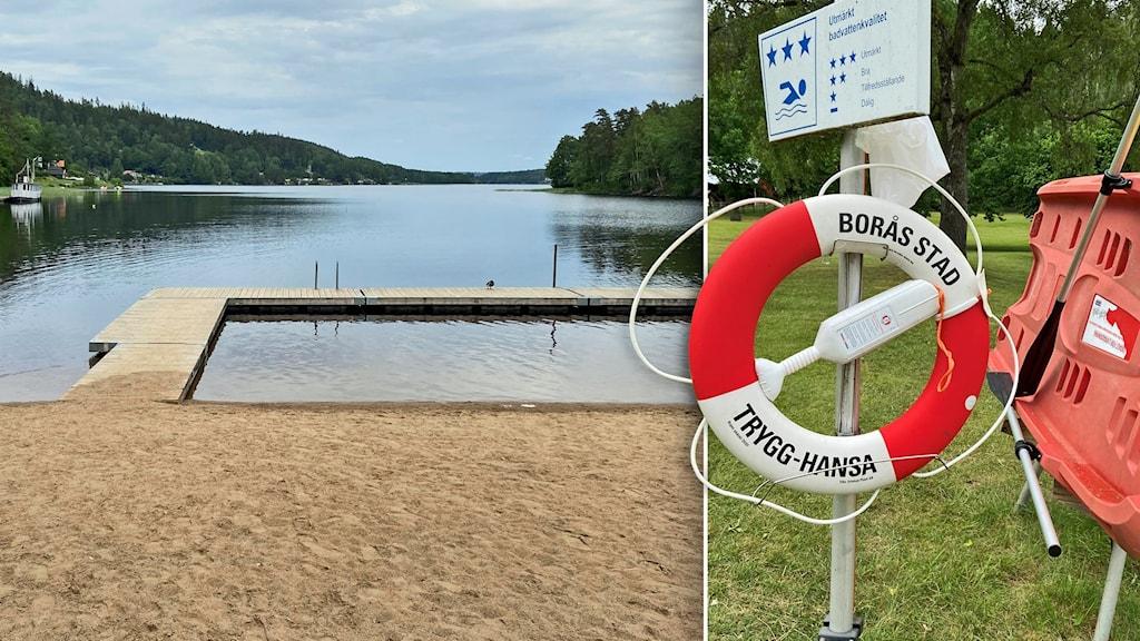 Almenäs badplats i Borås