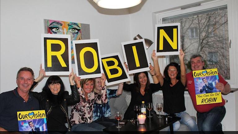 Robin Bengtssons familj laddar upp inför finalen i Melodifestivalen.