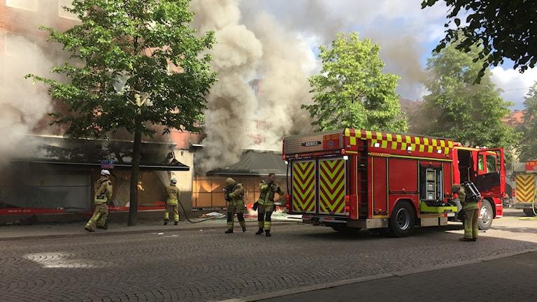 Brand i Borås