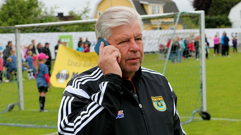 Ordförande Sven Andersson. Foto: Eric Porali.