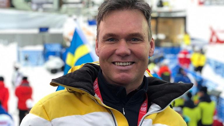 Patrik Järbyn på plats i Åre.