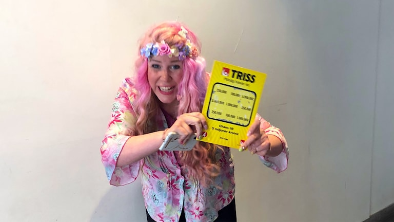 Lina Hellqvist Triss-vinnare