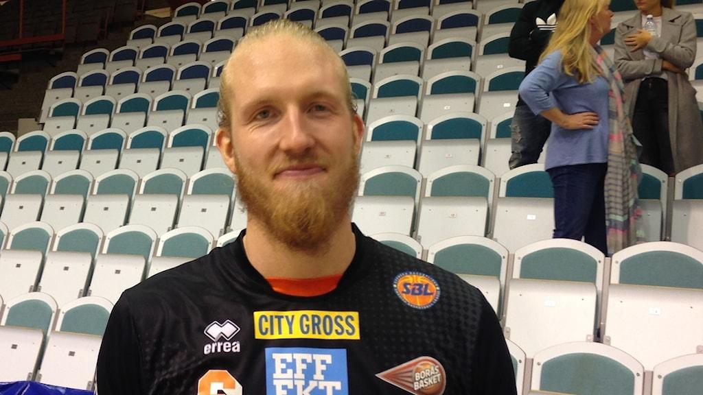 William Gutenius i Borås Basket