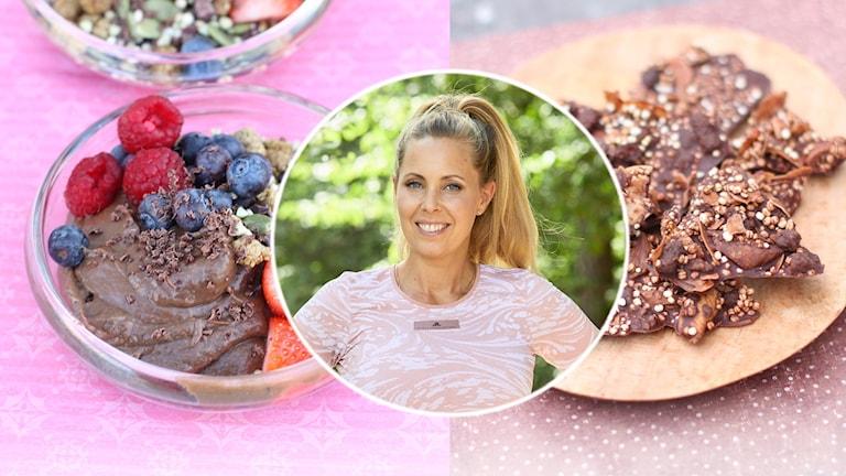 Chokladmums och mousse - Radiokock Karin Haglundtar oss med in i chokladköket.