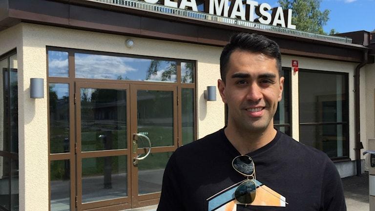 Mustafa Panshiri, före detta polis, föreläsare.