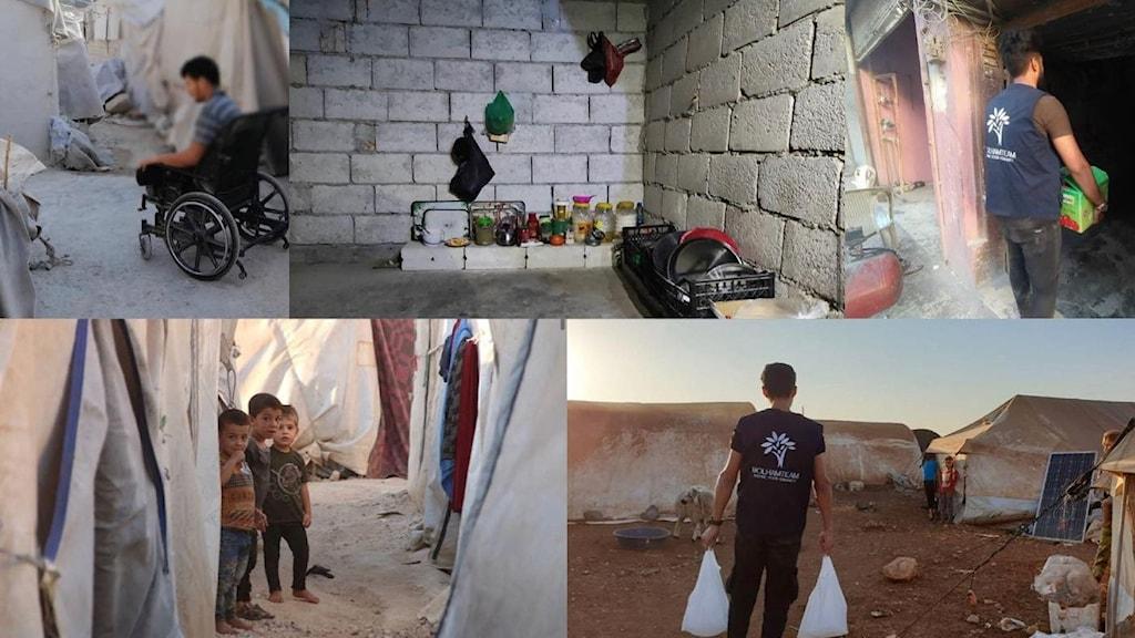 Molham är en volontärgrupp som samlar pengar för Syriskaflyktingar som lever i flyktingläger i mellanöstern.
