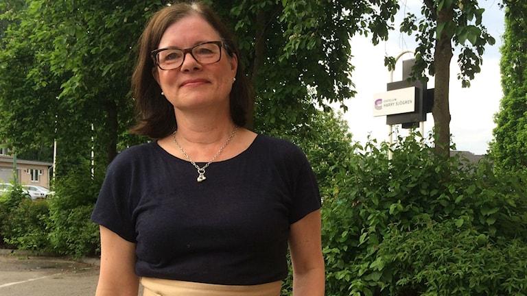 Eva-Lotta Franzén, kulturchef i Borås Stad.