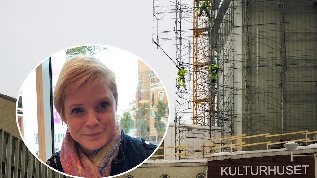 Sara Andersson och Kulturhuset