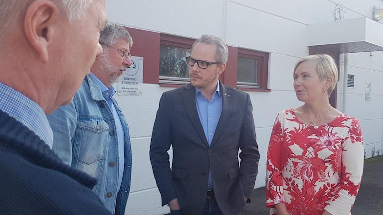 Minister på besök i Borås
