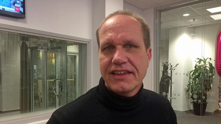 Porträtt på Fredrik Almqvist