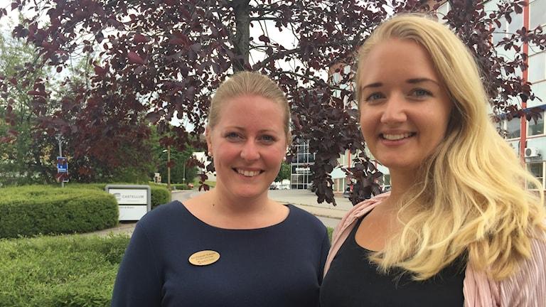 Ann-Elisabeth Brakstad och Annica Elf, båda socialsekreterare i Borås.