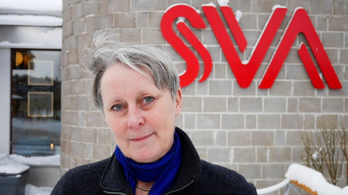 """""""Det handlar om vår framtid"""", säger Christina Greko, veterinär och antibiotikaexpert på Statens Veterinärmedicinska Anstalt."""