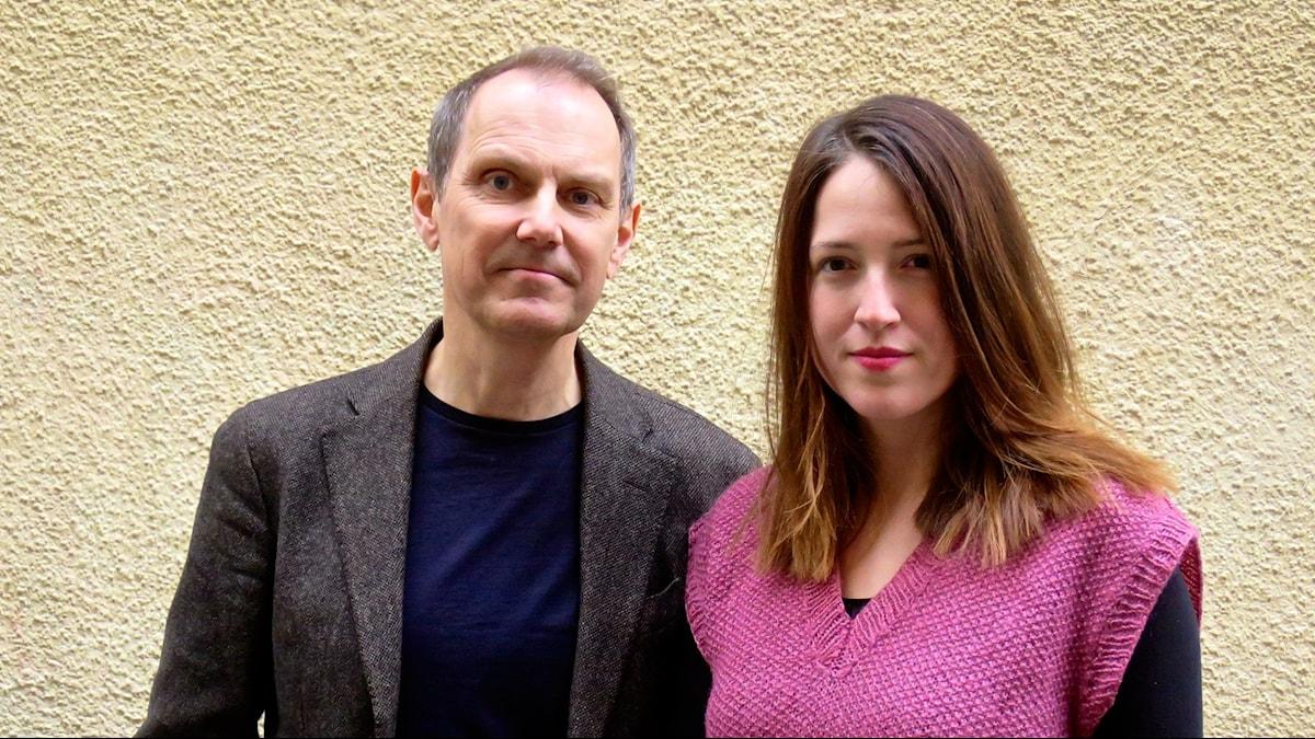 Menys programledare Tomas Tengby och reporter Nina Frogneborn. Foto: Ulrika Tengby Holm