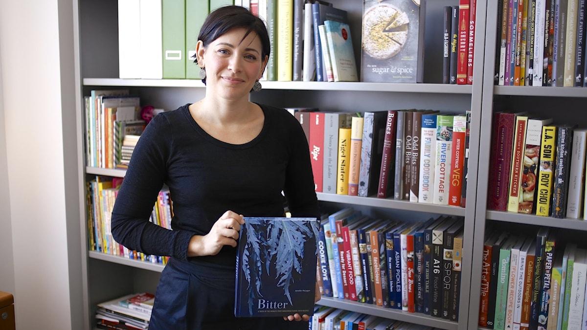 Jenny Wapner på förlaget Ten Speed Press i USA. Foto: Tomas Tengby.