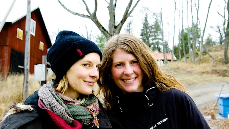 Gröt-systrarna Vanda Lönngren och Jana Fröberg.
