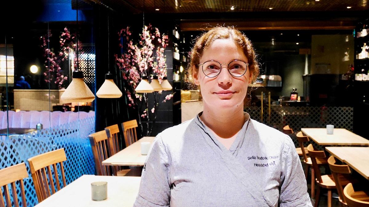Sofia B Olsson har inga problem att få tag på kockar. Hennes kök lockar.
