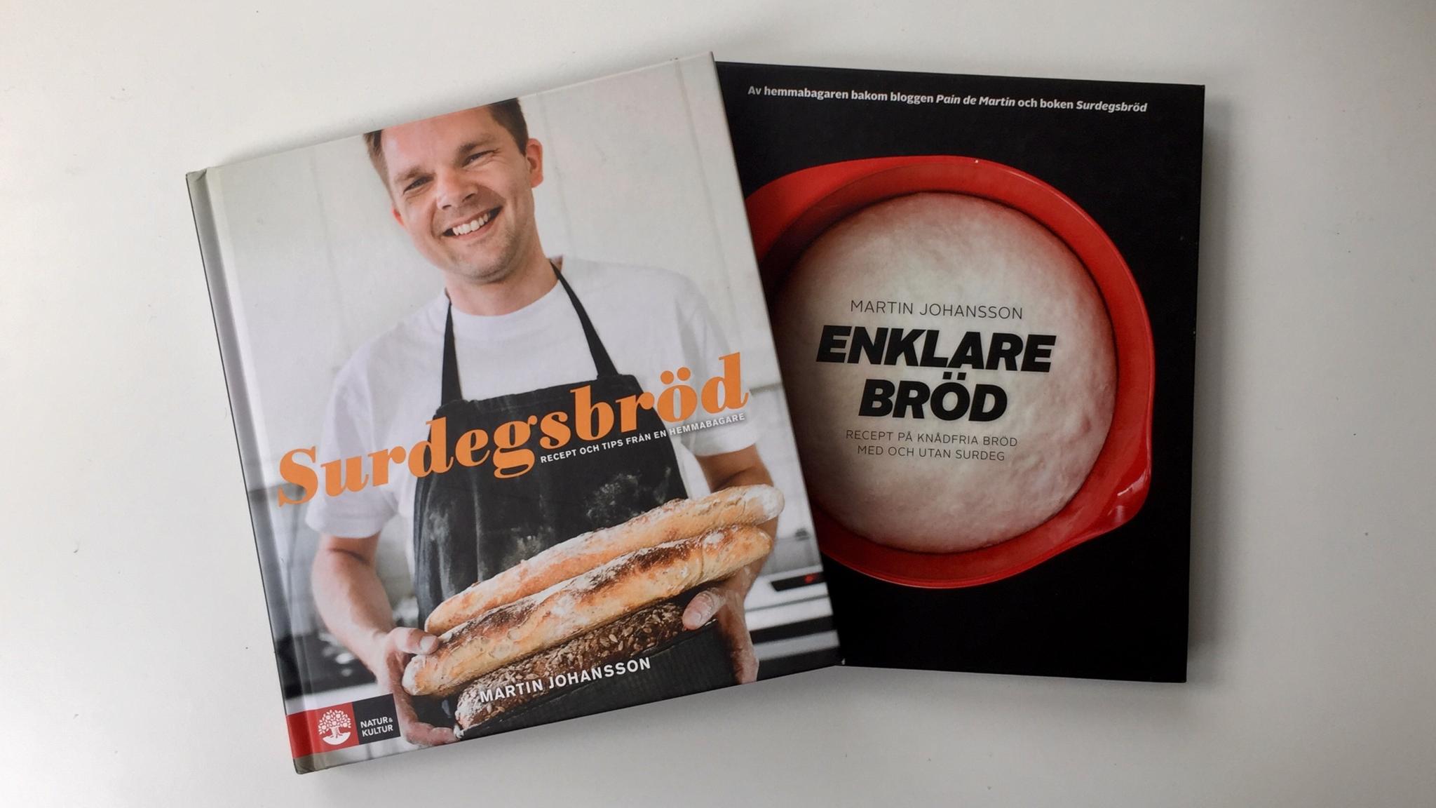 Surdegsbröd från 2009 och Enklare bröd från 2010. Två milstolpar.