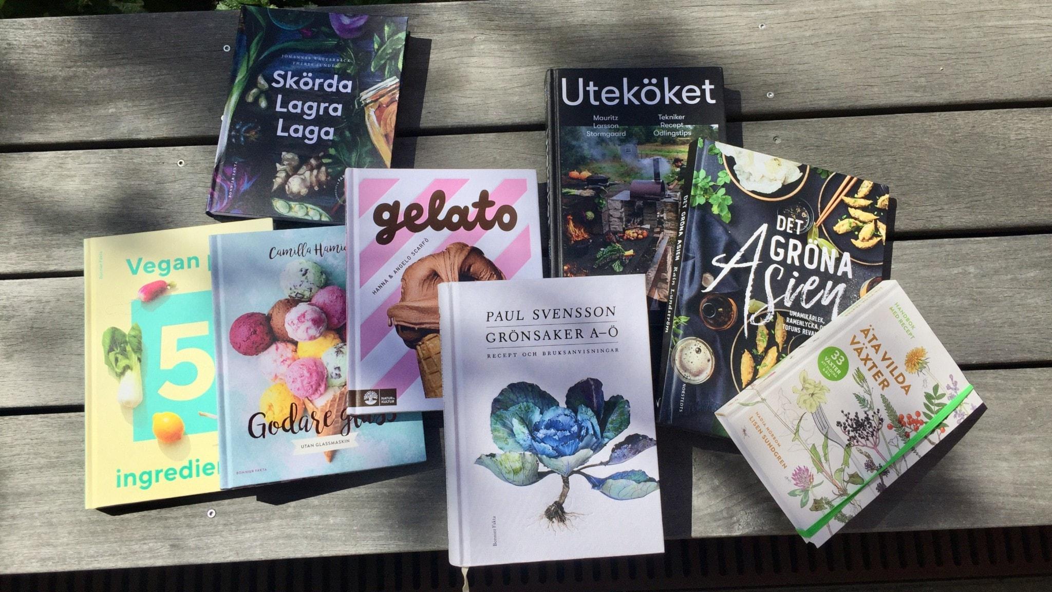 Böckerna som det pratas om i programmet