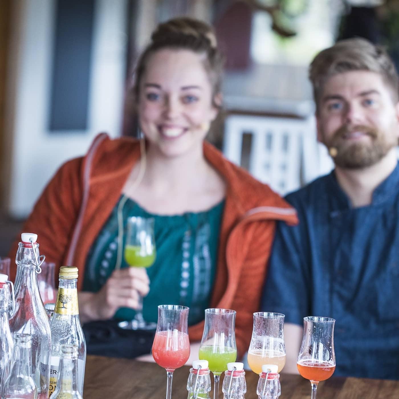 Norrlandsresan - Susanne Jonsson gör läskande sommardricka