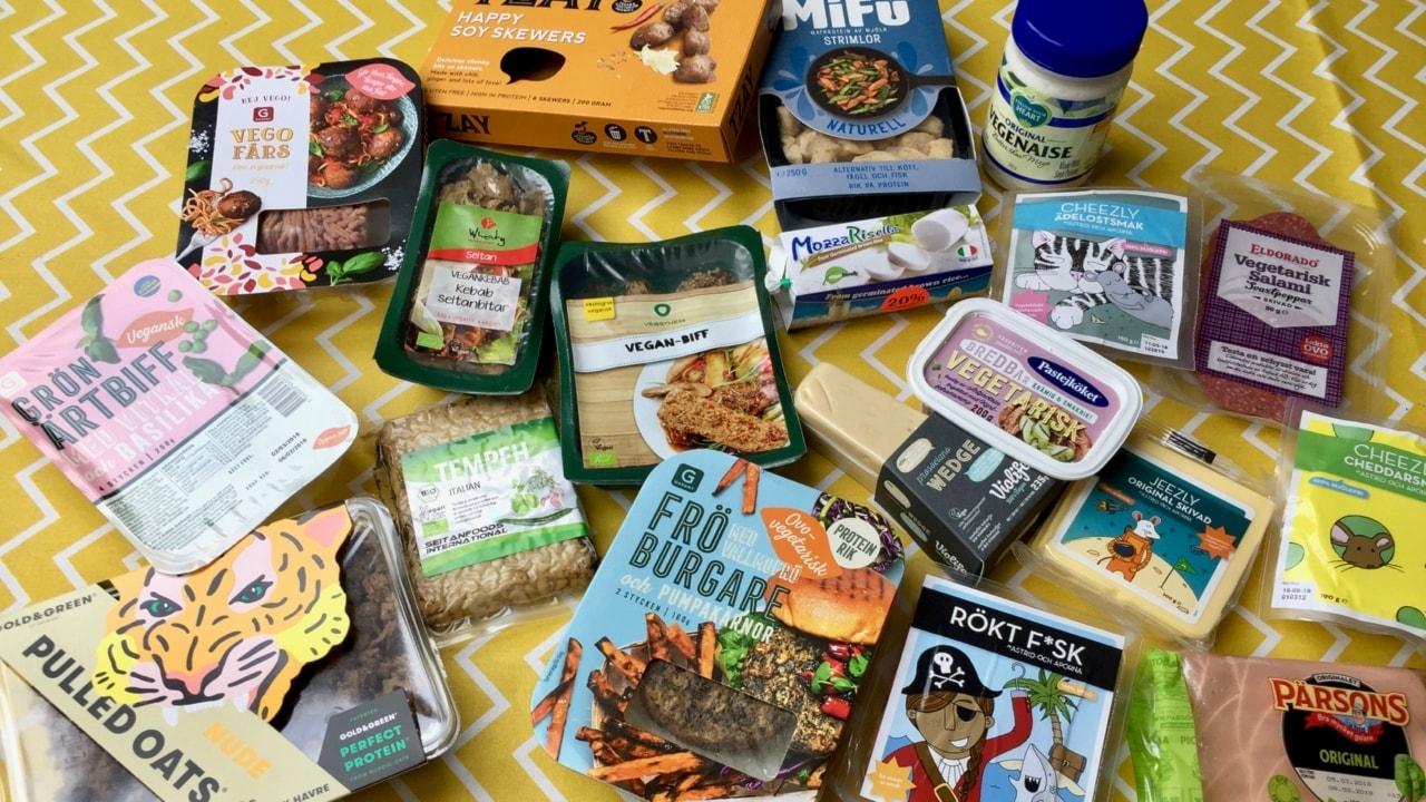 Både gott och oaptitligt! Vi testar vegansk ost, salami, köttfärs, kebab och kyckling
