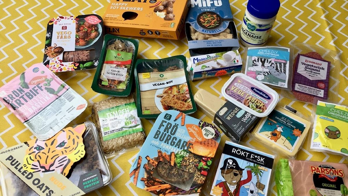 Det fullkomligt exploderar av nya vegetariska och veganska produkter i butikerna.