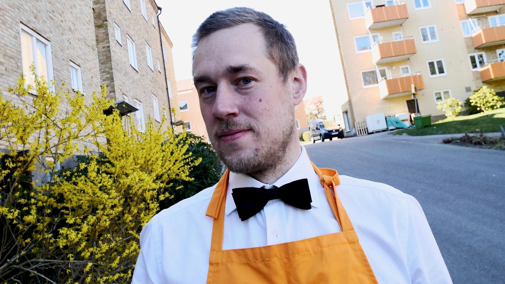 Popparen Bruno Lindberg tog poppandet till nya nivåer när han läste livsmedelsteknik på Chalmers.
