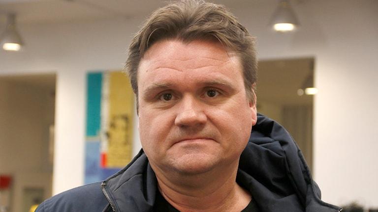 Alexander Holmstredt, psykiatrisjuksköterska på Maria Malmö Foto: Karin Genrup/Sveriges Radio