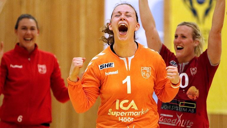Jessica Ryde, målvakt, H65 Höör. Foto: Martin Trobäck/H65 Höör