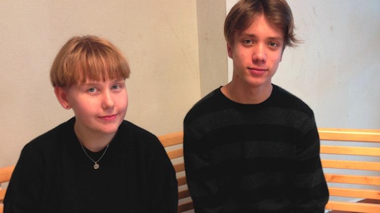 Nora Persson och Magnus Sturm på Spyken i Lund.