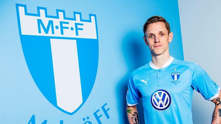 Sören Rieks, mittfältsspelare som är klar för Malmö FF. Foto: Christian ֖rnberg/Malmö FF.
