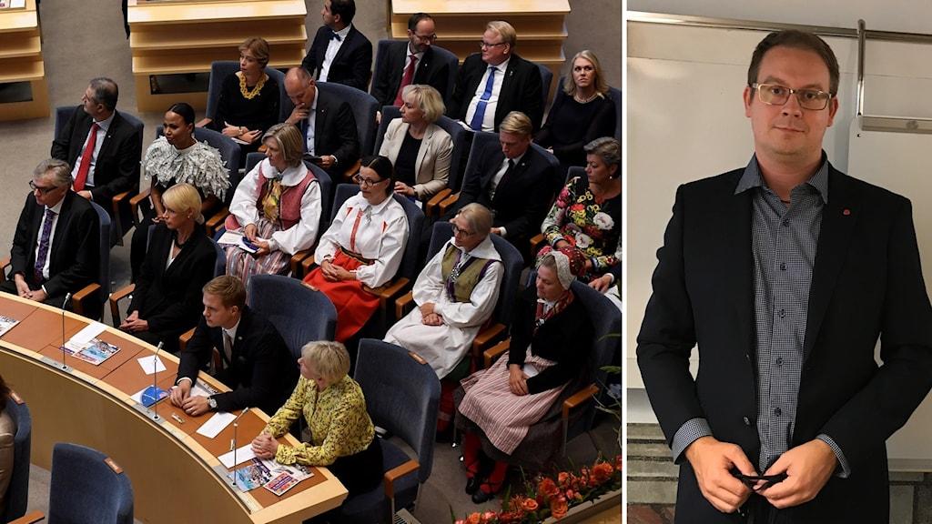 Socialdemokraten Ola Möller är en av de nyinvalda riksdagsledamöterna från Skåne.