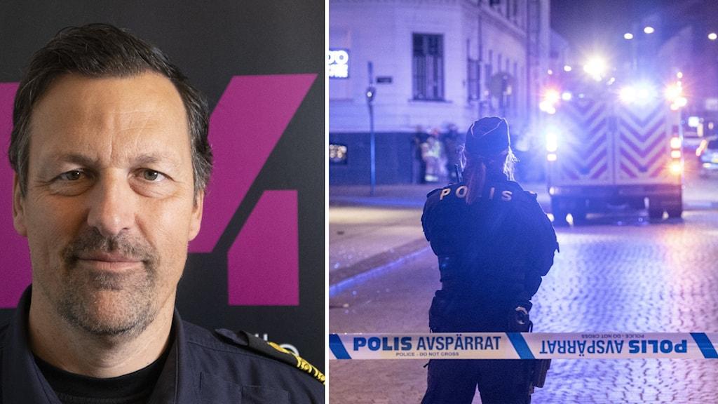 Göran Holmgren, kommunpolis i Malmö