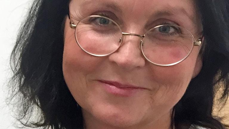 Sexologen Eva Mossberg jobbar på den nya sexologmottagningen inom cancerrehabiliteringen på Helsingborgs lasarett. Foto: Anna Hanspers/Sveriges Radio.