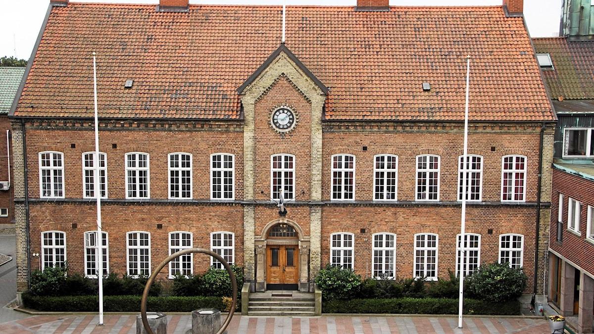 Rådhuset i Trelleborg. Foto: Ingrid Wall/Trelleborgs kommun.