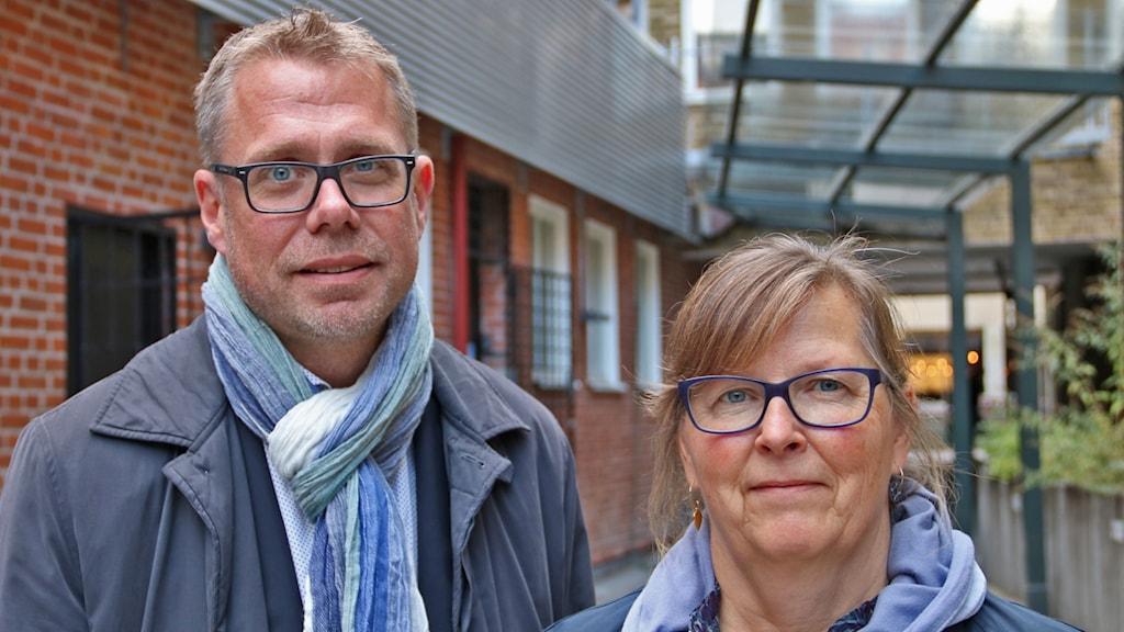 Jan Andersson och Maria Persson Löfgren
