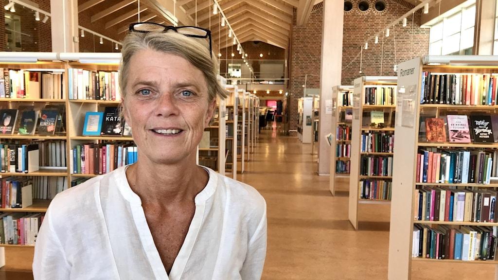 Lisa Jansson, Simrishamns bibliotek.