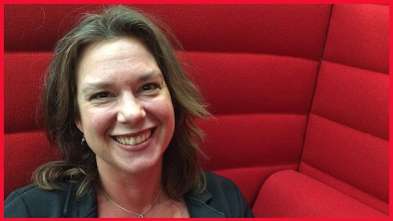 Pia Nilsson från Hjärup, sportintresserad medlem i P4 Malmöhus publiknätverk. Foto: Sofie Ericsson/Sveriges Radio.