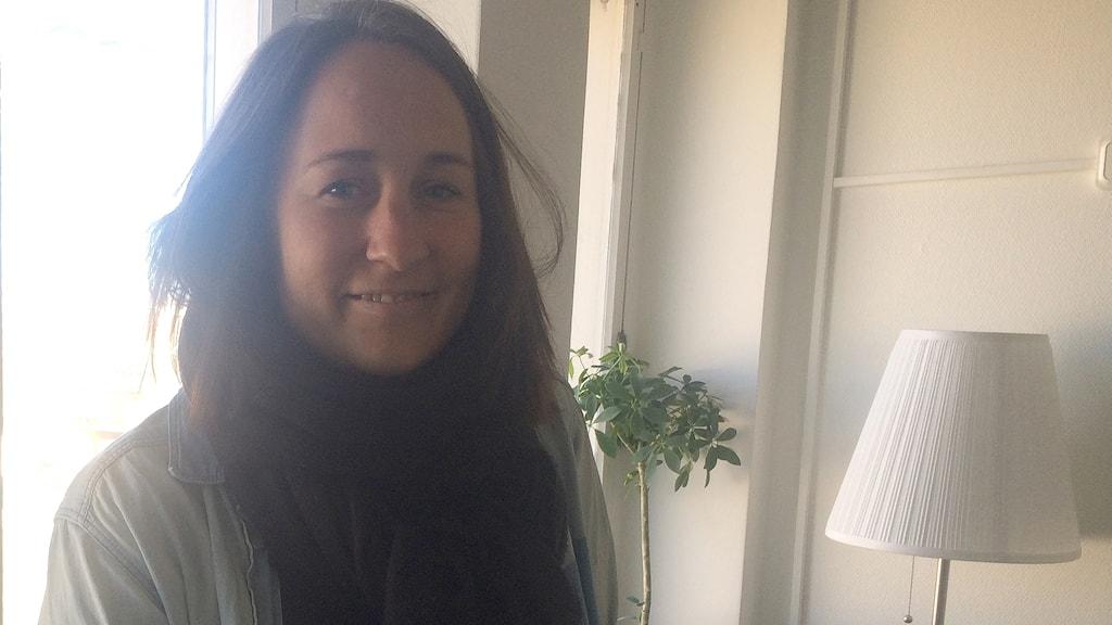 Lisa Green, Lisa Green, samordnare mot människohandel på Malmö stads Kompetenscentrum sexuella tjänster, KST. Foto: Evelina Olsson/Sveriges Radio