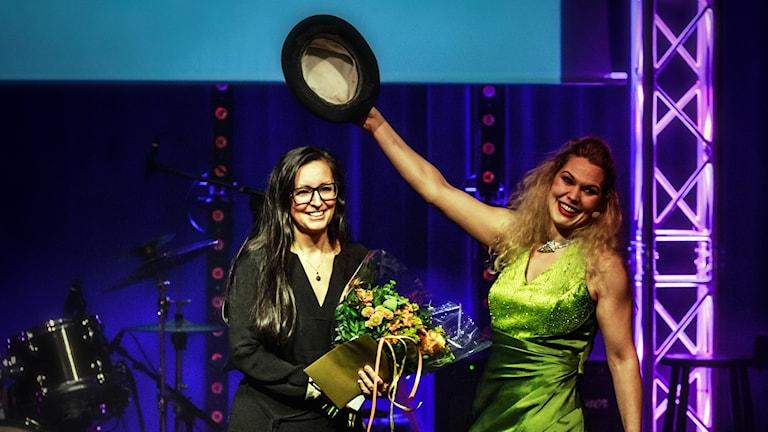 Thérèse Ahlbeck fick i går Kristianstads kulturpris. Foto: Martin Sventorp/Kristianstad kommun