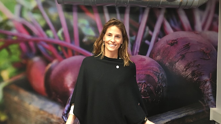 Sara Berger, vd för Sydgrönt som satsar på kokta svenska grönsaker.