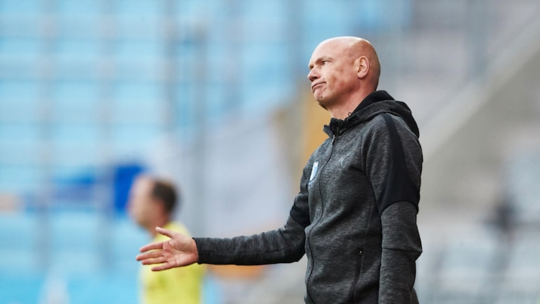 Malmö FF:s tränare Uwe Rösler.