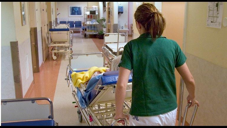sjukhus vårdplatser