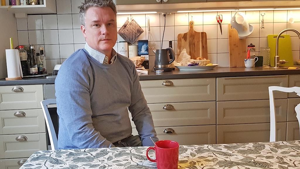 Joakim Sandell, socialdemokrat från Malmö och nybliven riksdagsledamot. Foto: Hanna Palm/Sveriges Radio.