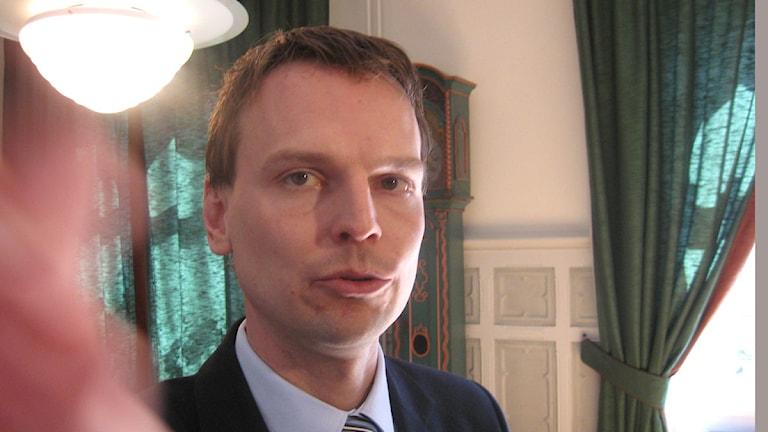 Arivbild. Peter Danielsson (M). Foto: Lasse Olsson/SR