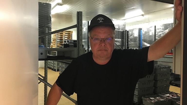 Sverker Malmborg, ägare av Sjöbo Slakteri.