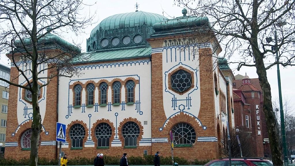 Synagoga i Malmö.