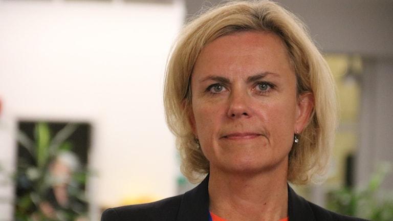 Katarina Areskoug, chef för den svenska EU-kommissionen