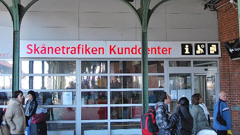 Skånetrafikens kundcenter. Foto: Tobias Wallin/SR