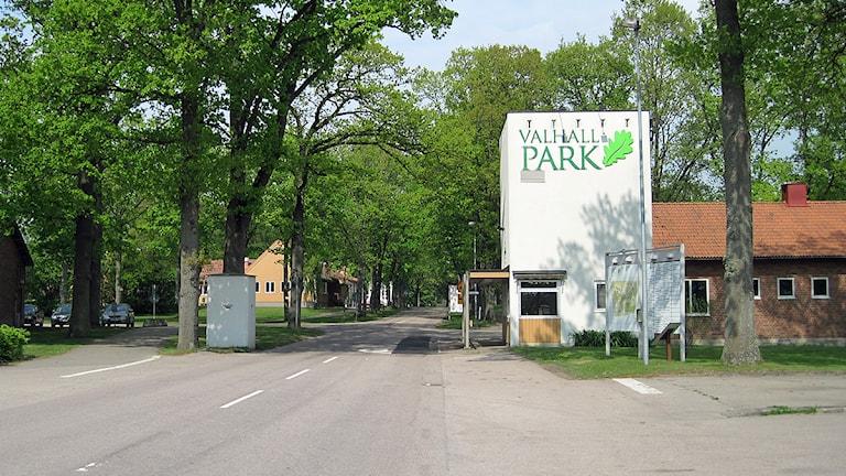 Valhall Park, det tidigare regementsområdet i Ängelholm Foto: Bosse Johansson/Sveriges Radio