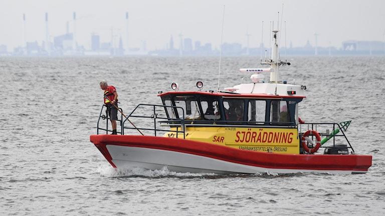 En av Sjöräddningens båtar.